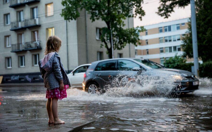 Погода в Литве не порадует - снова возвращаются дожди