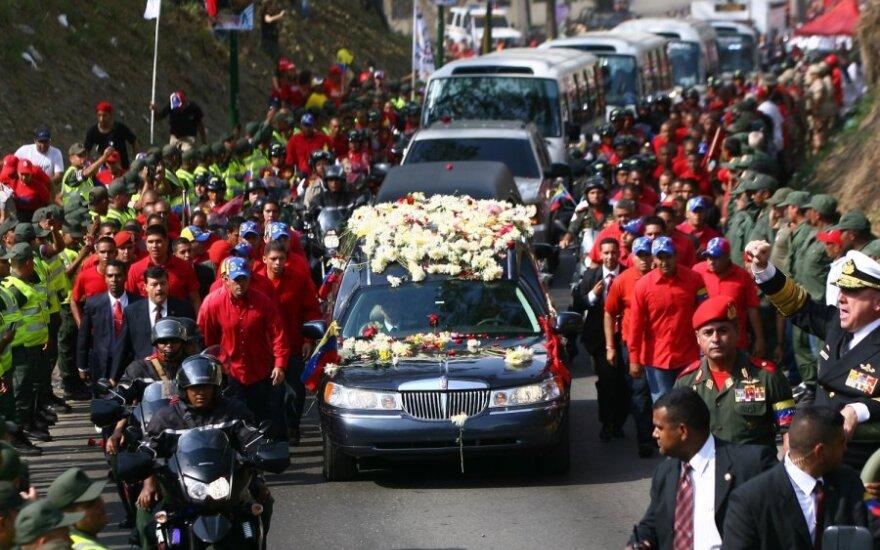 H.Chavezo laidotuvės