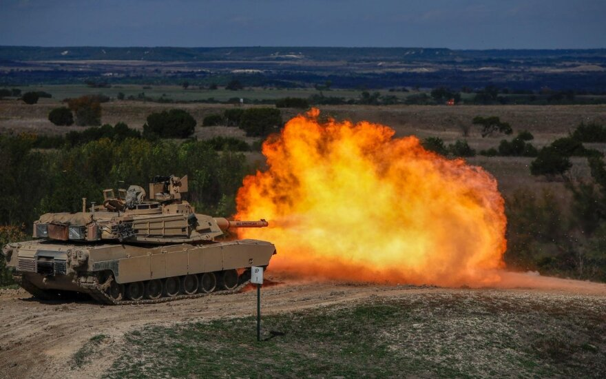 В Литву прибывают военные из США