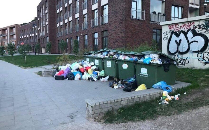 Šiukšlės Vilniuje