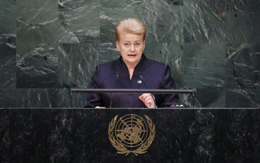 Dalia Grybauskaitė: Przemówienie Putina jest neostalinowskie