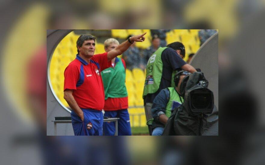 CSKA treneris Juande Ramosas