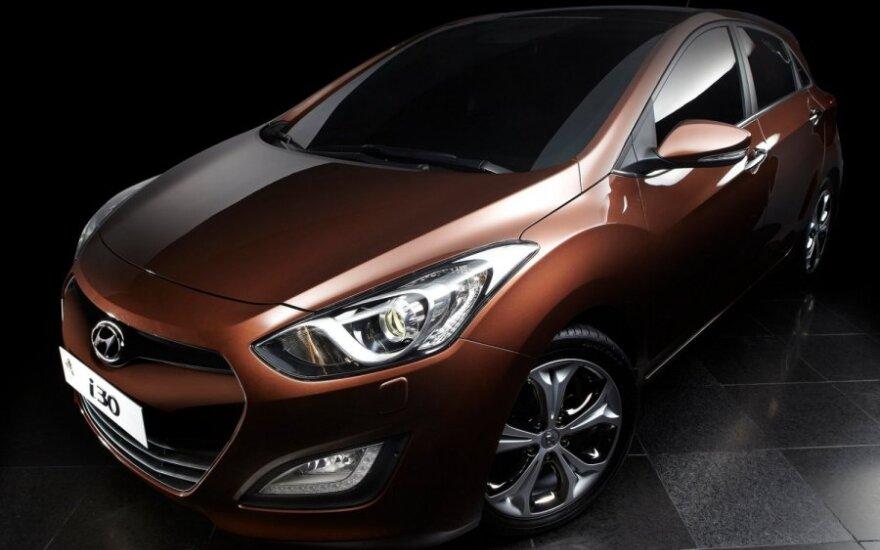Hyundai представили модель i30 в трехдверном кузове