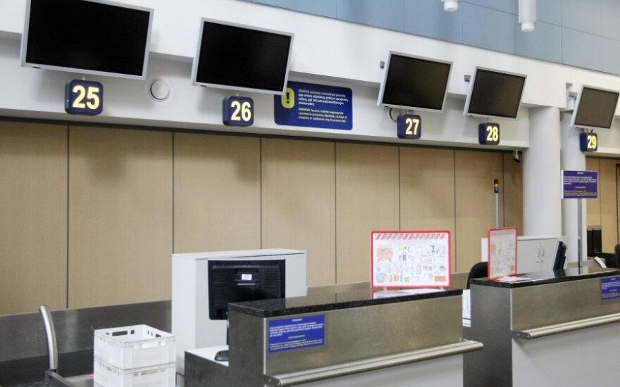 Для шутников по поводу бомб в самолете - таблички с предупреждением