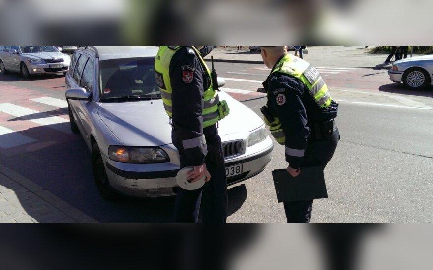 В Вильнюсе автомобиль сбил мужчину