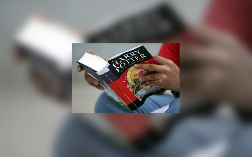 "Knyga ""Haris Poteris ir pražūtingos relikvijos"" (Harry Potter and the Deathly Hallows)"