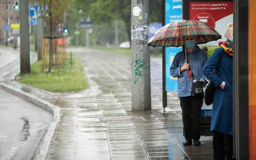 В выходные погода будет неприятной: дождь, холод и сильный ветер