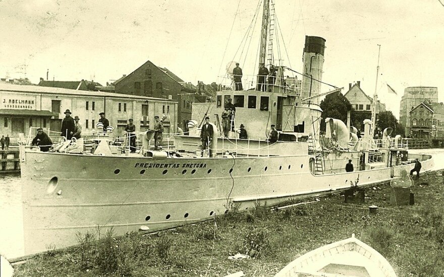 На дне Балтики обнаружен военный корабль Prezidentas Smetona