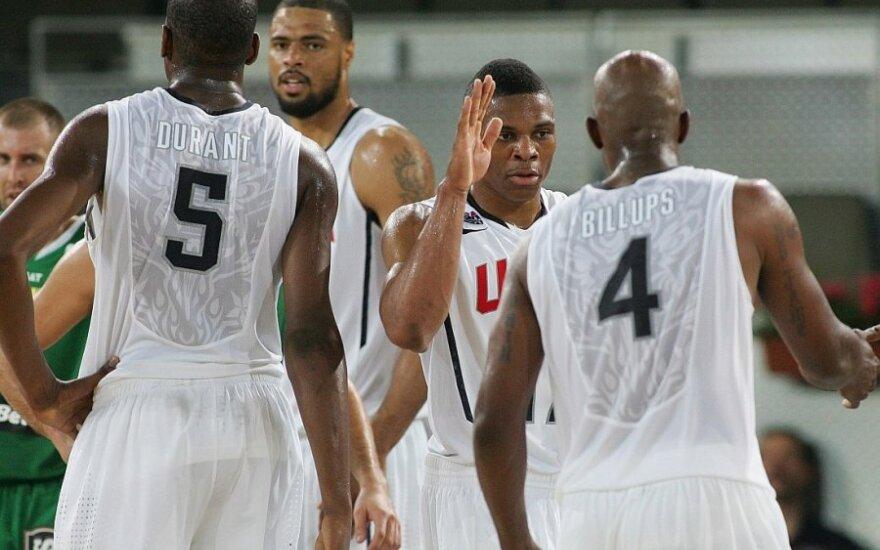 JAV rinktinės krepšininkai