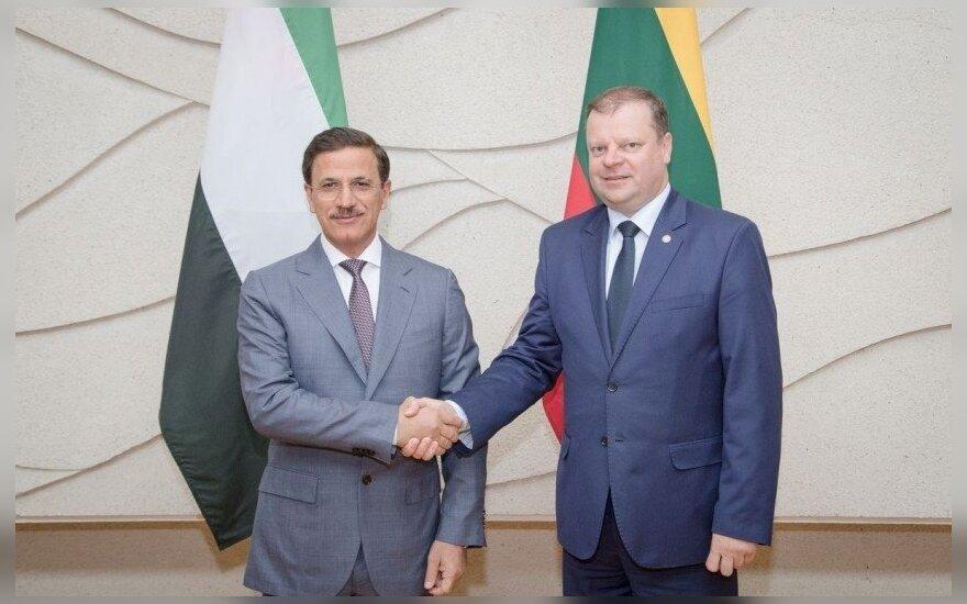 Литва и ОАЭ рассматривают возможность открыть посольства в столицах