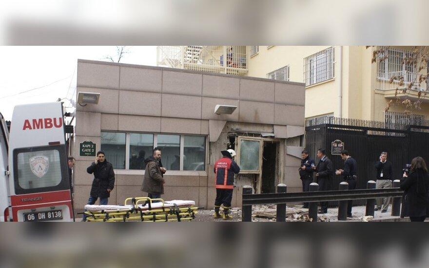 Взрыв у американского посольства в Анкаре устроил умственно отсталый с 6 кг тротила