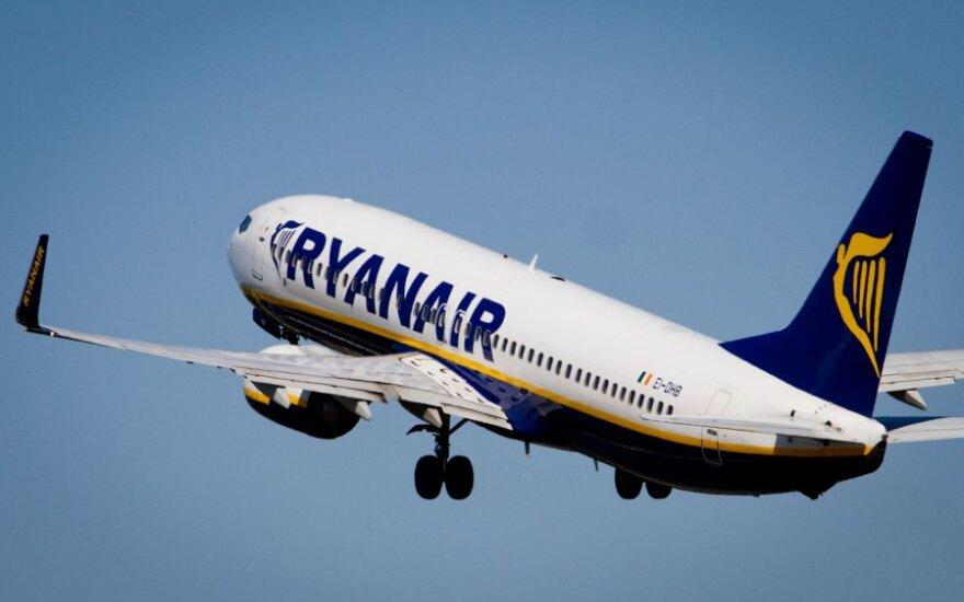 """""""Ryanair"""" przenosi loty do Wilna"""
