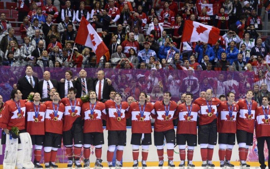 Olimpiniai čempionai Kanados ledo ritulininkai