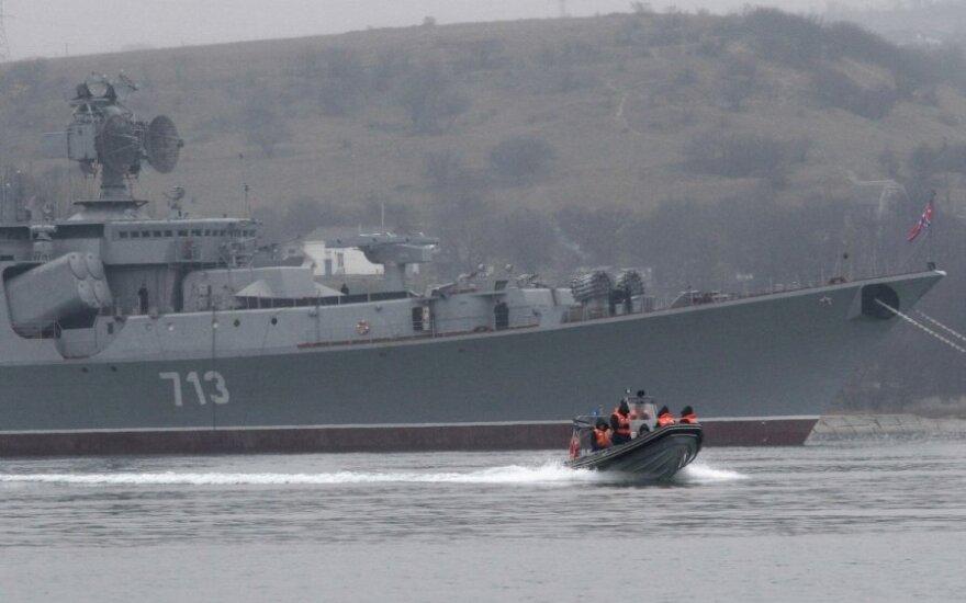 Dowódca marynarki wojennej Ukrainy złożył przysięgę Krymowi