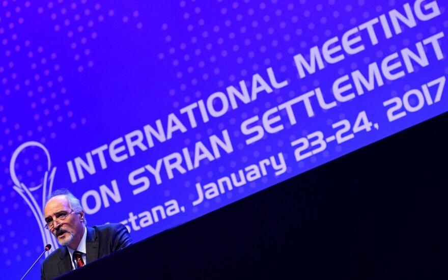 Россия, Иран и Турция договорились мониторить перемирие в Сирии