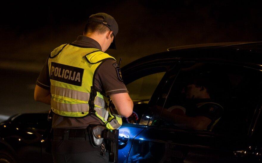 """Ночной рейд в Вильнюсе: выяснилось, что в """"Ночь культуры"""" водители выпивали культурно"""