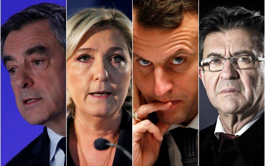 Граждане Франции выбирают президента страны