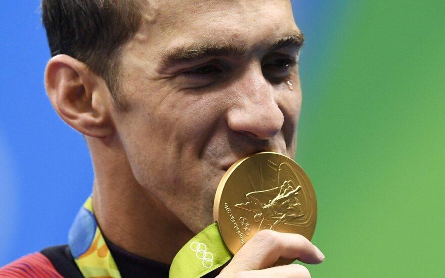 Великий американский пловец Фелпс — 23-кратный олимпийский чемпион