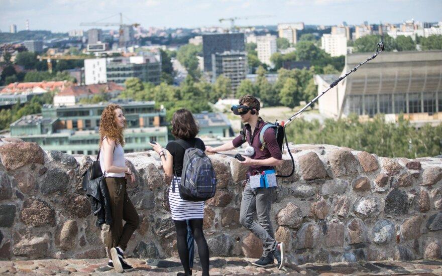 Зарубежные туристы в прошлом году потратили в Литве на 9% больше – 1,3 млрд евро