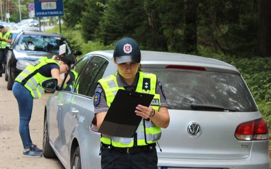 Полиция провела профилактический рейд на взморье
