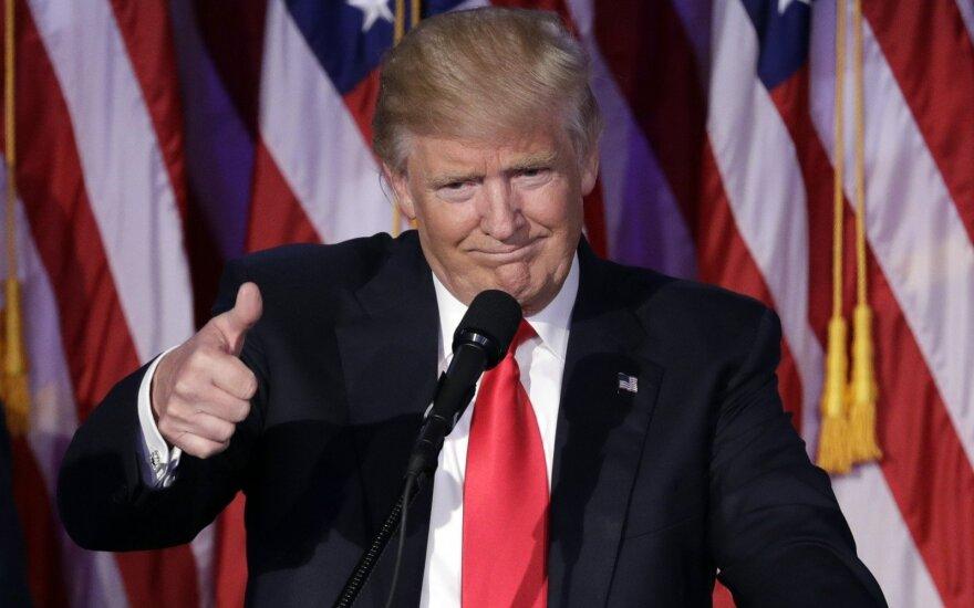 JAV prezidentu išrinktas Donaldas Trumpas