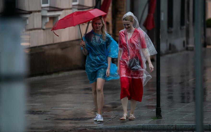 После короткой передышки в Литве снова пойдут дожди