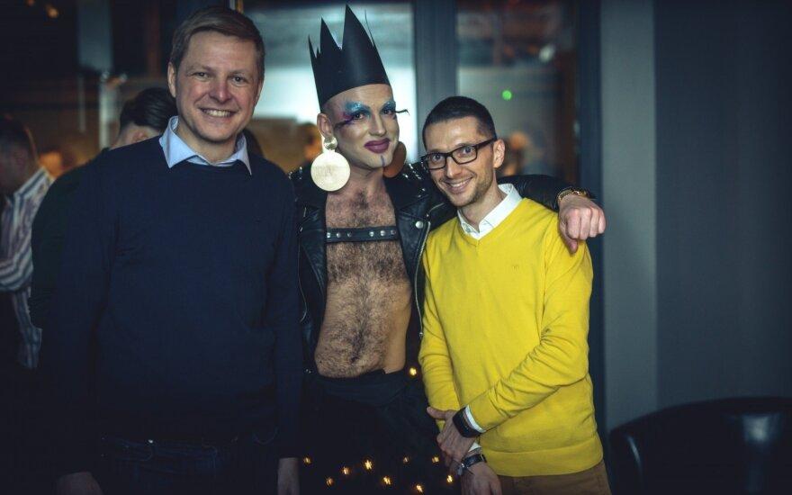 Шимашюс стал первым мэром в Литве, посетившим гей-клуб
