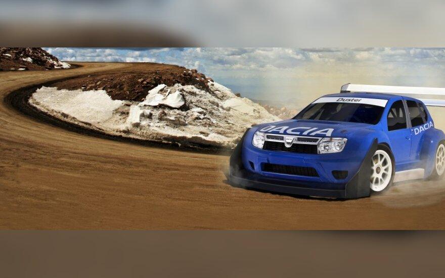 Dacia kuriama 850 AG Duster versija
