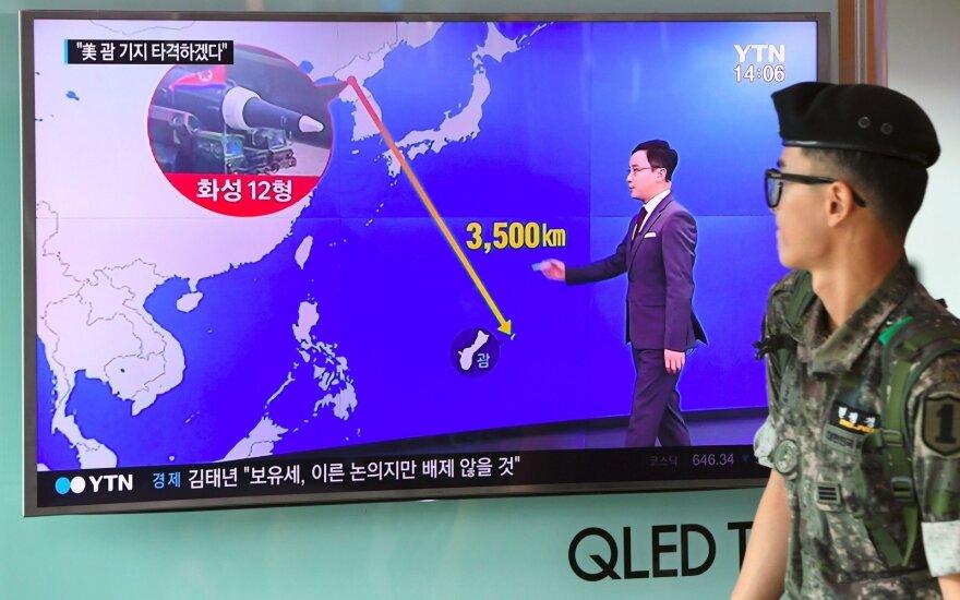 КНДР обещает план удара по острову Гуам к середине августа