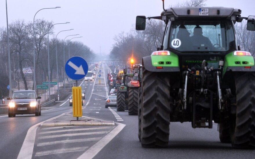 Ūkininkų protestas Lenkijoje