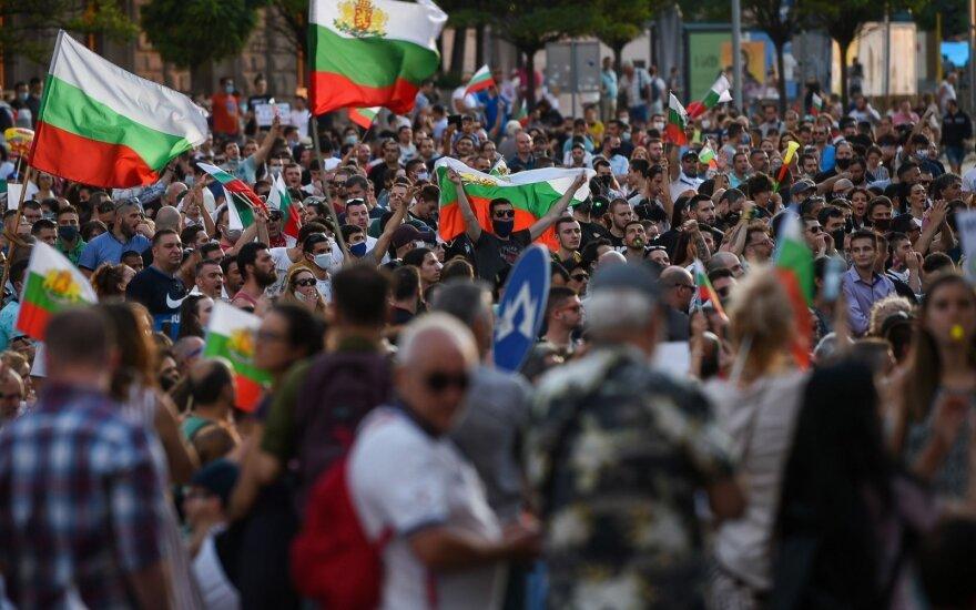 Antivyriausybiniai protestai Bulgarijoje