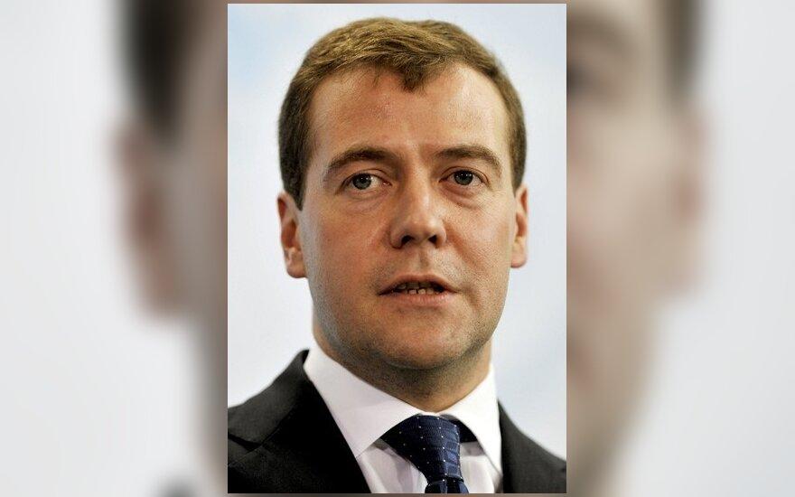 Д.Медведев поздравил В.Адамкуса с Новым годом