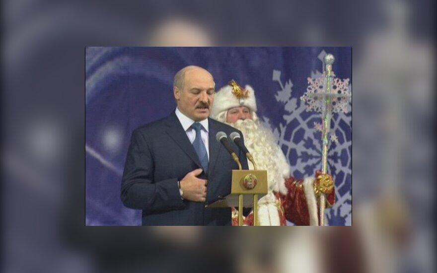 Лукашенко наградил Деда Мороза орденом Франциска Скорины
