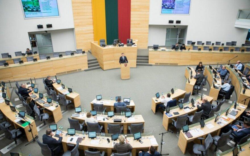 Парламент Литвы единогласно осудил выборы в контролируемых Россией областях Восточной Украины