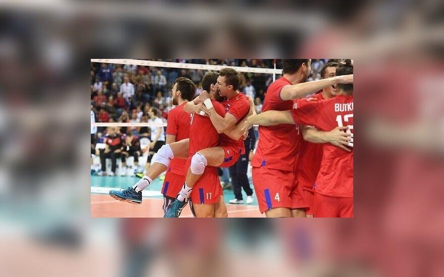 Российские волейболисты завоевали золото чемпионата Европы