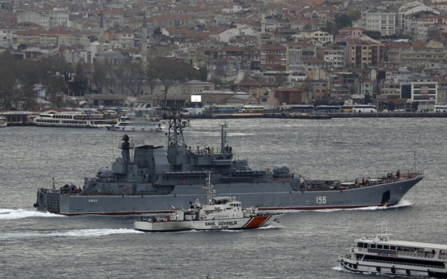 СМИ: в Турции задержаны 27 российских кораблей