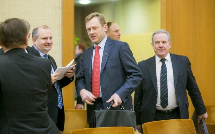 Богачи и бедняки литовского правительства