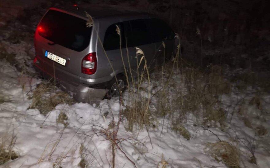 В Клайпеде после ДТП пьяный водитель оказал сопротивление полиции