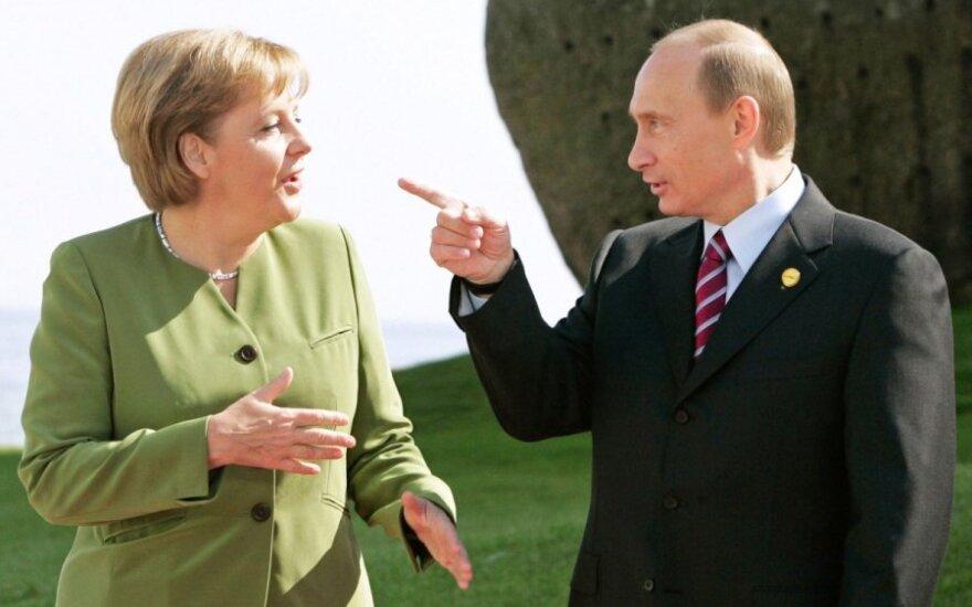 Putin wyjaśnił Merkel i Cameronowi, że Krym działa zgodnie z prawem