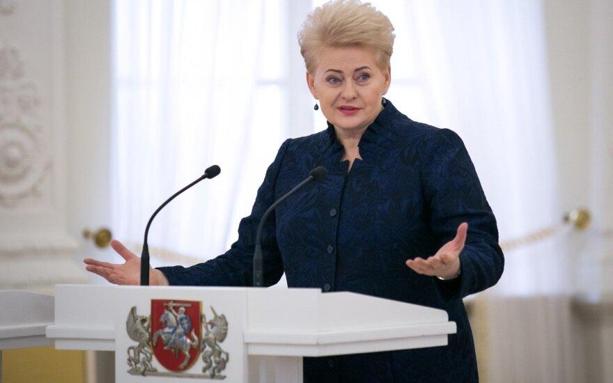 Президент Литвы напомнила премьеру: в случае с Россией экономика от политики неотделима