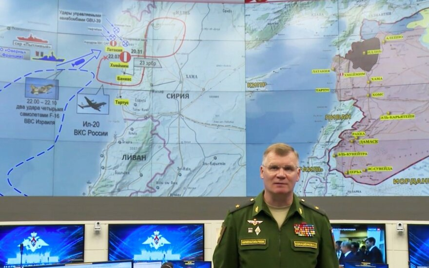 Минобороны РФ: 17 сентября Израиль нарушил договоренности с Москвой