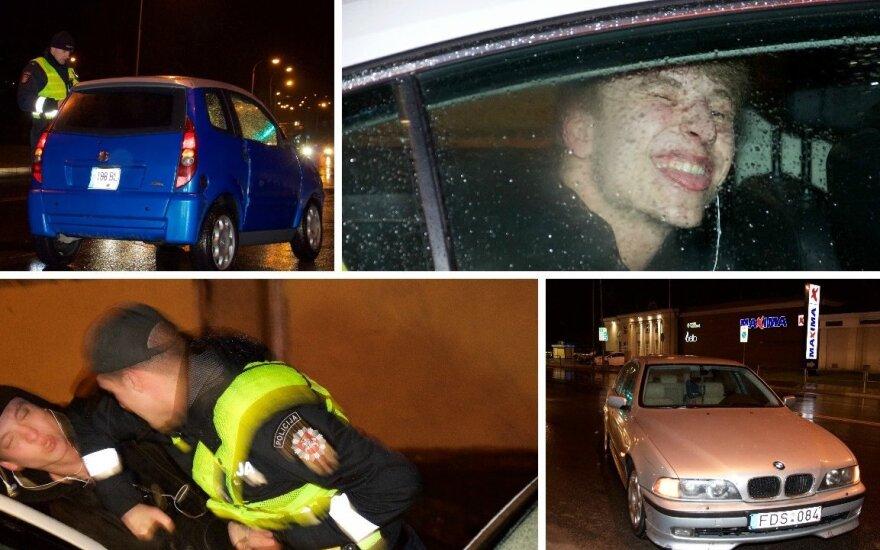 """Ночной рейд в Вильнюсе: """"пьяный сын комиссара Вербы"""""""