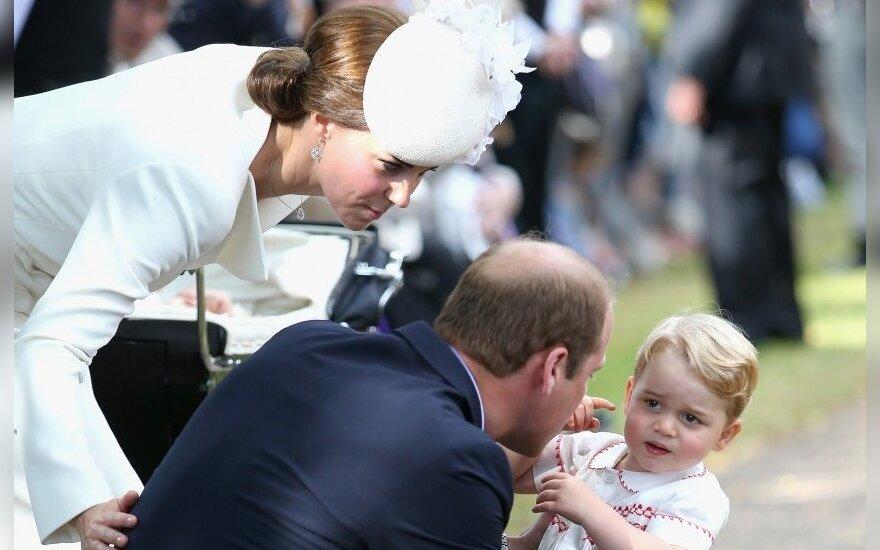 Уильям и Кейт волнуются за сына