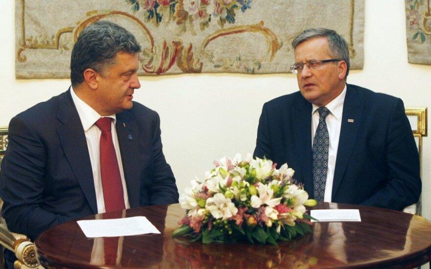 Bronisław Komorowski: Jesteśmy gotowi sprzedawać broń Ukrainie