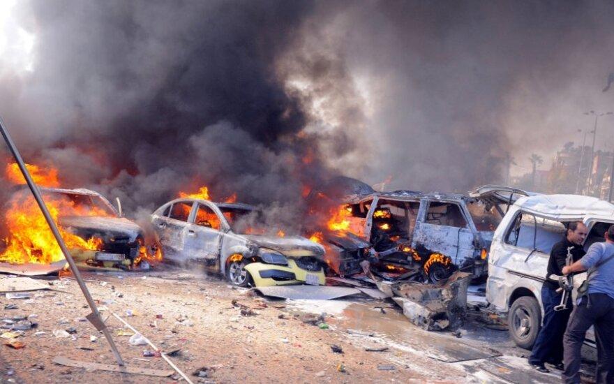 Damaszek: Wybuch pod ambasadą Rosji