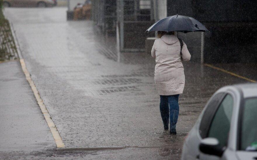 Зимой и не пахнет: в Литву придут дождливые циклоны
