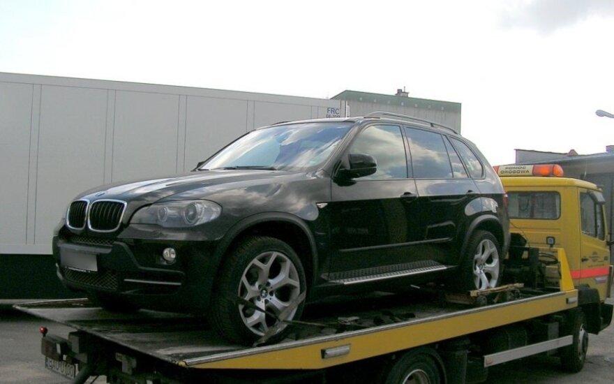 Samochody skradzione przez Litwina. Foto: policja.pl