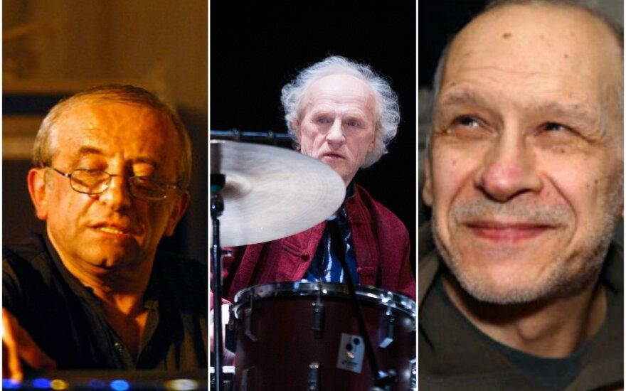 Viačeslavas Ganelinas, Vladimiras Tarasovas, Vladimiras Čekasinas
