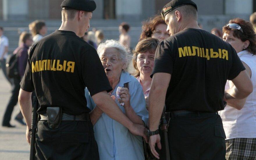 Protesto akcija Baltarusijoje