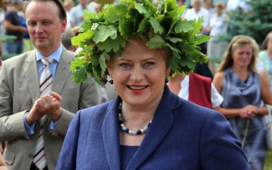 Grybauskaitė: Nie jestem przeciwna mniejszościom narodowym, ale nie mogę złamać Konstytucji